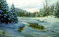 Winter Landscape 14 Fine Art Print