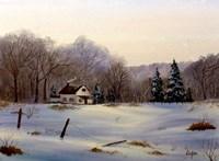 Winter Landscape 16 Fine Art Print