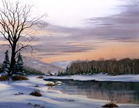 Winter Landscape 19 Fine Art Print