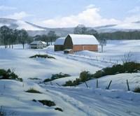 Winter Landscape 21 Fine Art Print