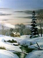 Winter Landscape 22 Fine Art Print