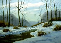 Winter Landscape 24 Fine Art Print