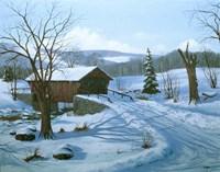 Winter Landscape 28 Fine Art Print