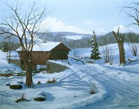 Winter Landscape 28 Fine Art Print