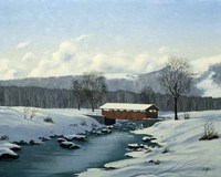 Winter Landscape 29 Fine Art Print