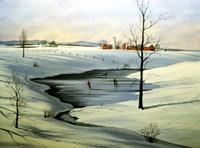 Winter Landscape 30 Fine Art Print