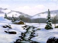 Winter Landscape 32 Fine Art Print