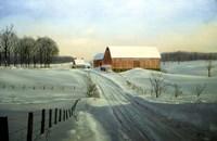 Winter Landscape 33 Fine Art Print