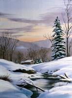 Winter Landscape 36 Fine Art Print