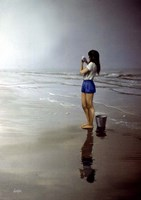 Day on the Beach 4 Fine Art Print