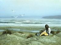 Day on the Beach 12 Fine Art Print