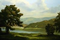 Summer Landscape 1 Fine Art Print