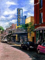 County Theater Fine Art Print