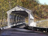 Knox Bridge - Valley Forge Pa Fine Art Print