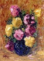 Moms Roses Fine Art Print