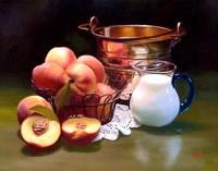 Peaches & Cream Fine Art Print