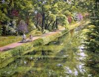 Along The Canal Fine Art Print