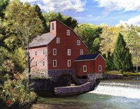 Red Mill Fine Art Print