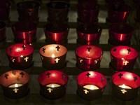 Church Candles Fine Art Print