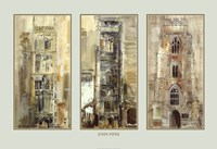 Three Suffolk Towers Fine Art Print