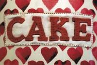 Cake Label Fine Art Print