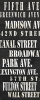 NYC Streets Fine Art Print