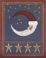 3 Half Moon Santa Fine Art Print