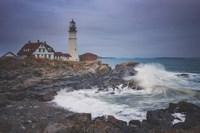 Cape Elizabeth Storm Fine Art Print
