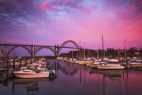 Yaquina Bay Sunrise Fine Art Print