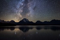 Jackson Lake Milky Way Fine Art Print