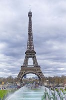 Eiffel Tower and Jardin du Trocadero Fine Art Print