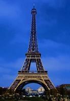 Eiffel Tower Blue Hour Fine Art Print