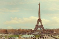 Eiffel Tower with Jardin du Trocadero Fine Art Print