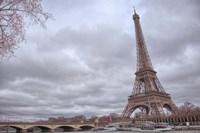 Eiffel Tower, Seine and Pont d'Iena Fine Art Print