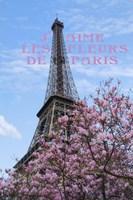 J'aime les Fleur de Paris Fine Art Print