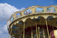 Merry-go-round Paris Fine Art Print