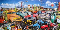 Route 66 Crossroads Fine Art Print