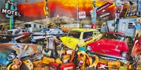 Stardust Trailer Park Fine Art Print