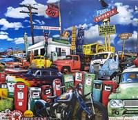 El Paso Truck Salvage Fine Art Print