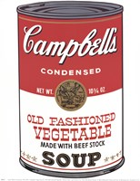 Campbell's Soup (Ica) Fine Art Print