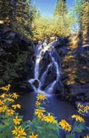 Rocky Waterfall Fine Art Print