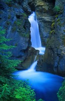 Blue Waterfall Fine Art Print