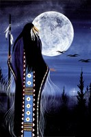 Evening Star Woman Fine Art Print