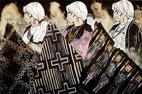 Tres Tejedoras Fine Art Print