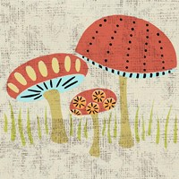 Ada's Mushrooms Fine Art Print