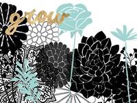Lacy Garden I Fine Art Print