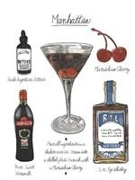 Classic Cocktail - Manhattan Fine Art Print