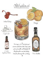 Classic Cocktail - Old Fashioned Fine Art Print