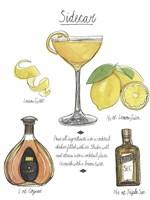 Classic Cocktail - Sidecar Fine Art Print