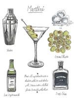 Classic Cocktail - Martini Fine Art Print